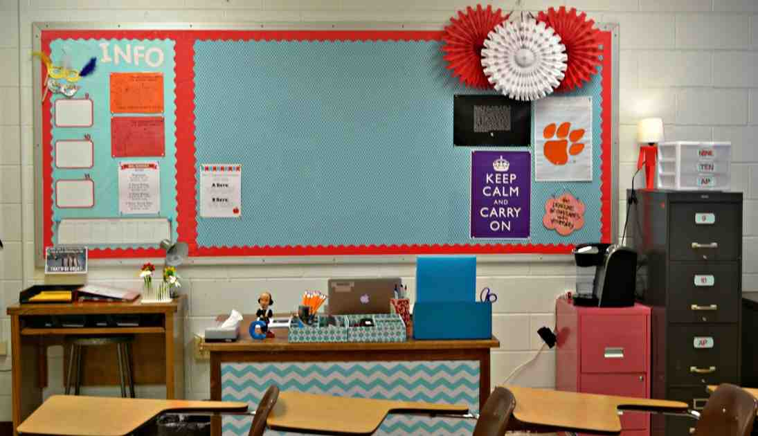 School Office Decorating Ideas