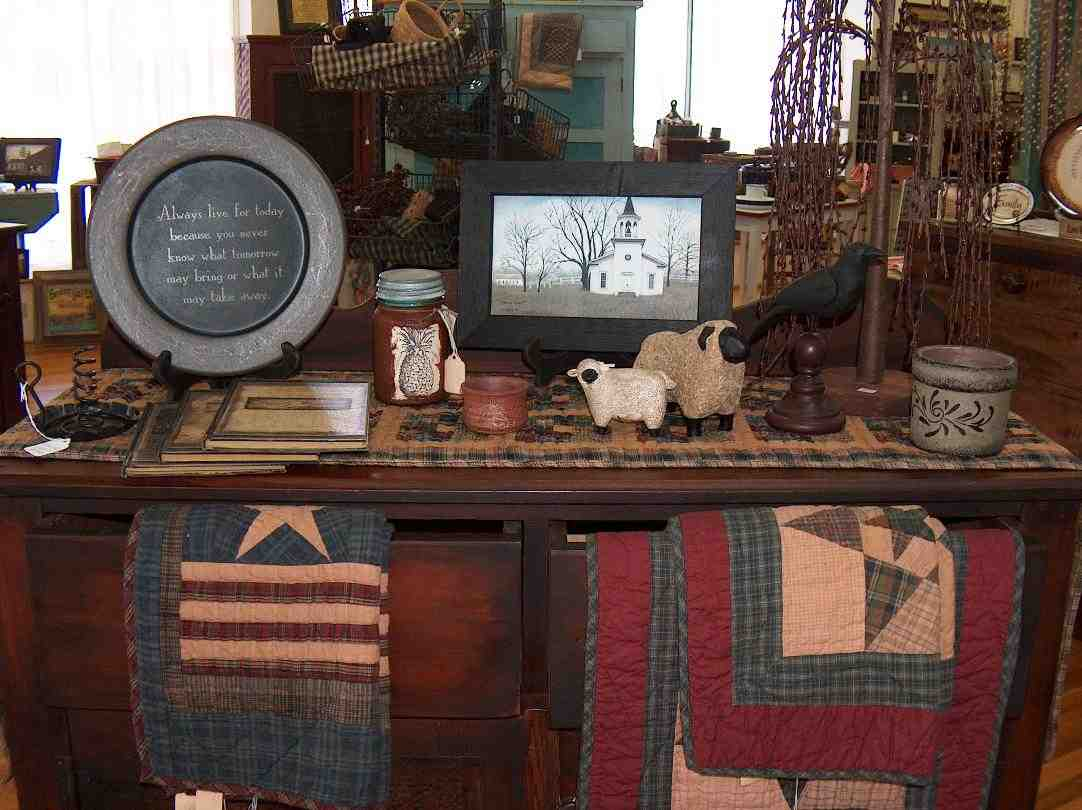 primitive country living room colors cabinets for the home decor: how to pick best - decor ideasdecor ...