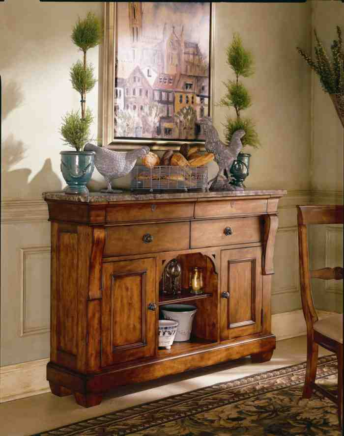 Decorating Dining Room Buffets and Sideboards  Decor