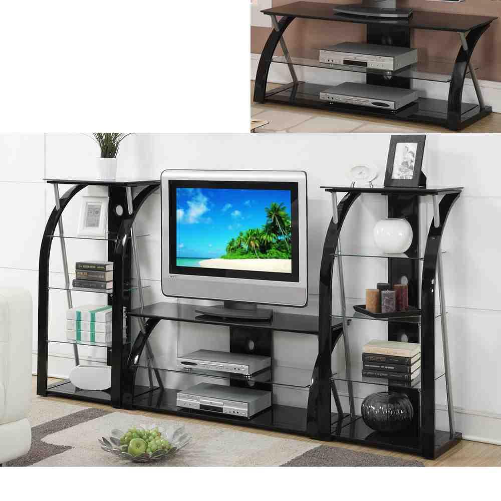 TV Stand Glass Shelves  Decor IdeasDecor Ideas