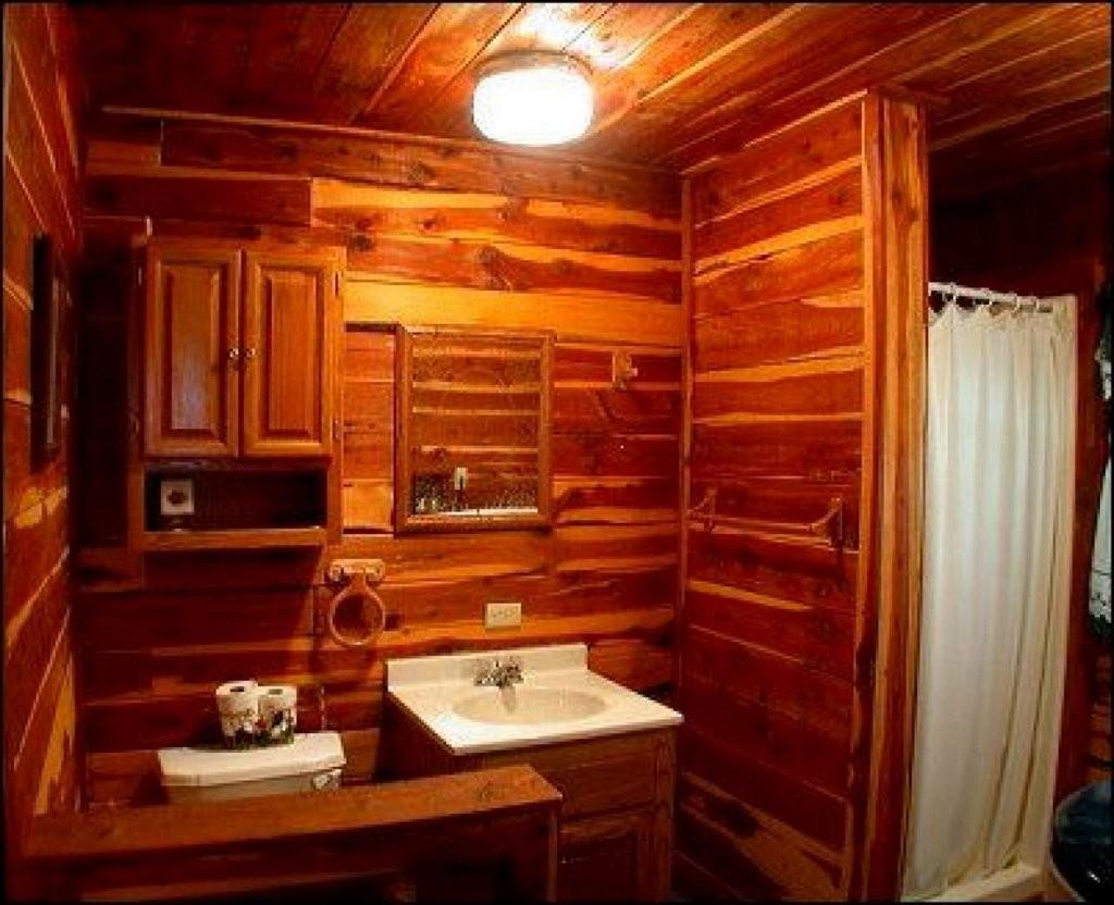 Log Cabin Bathroom Decor