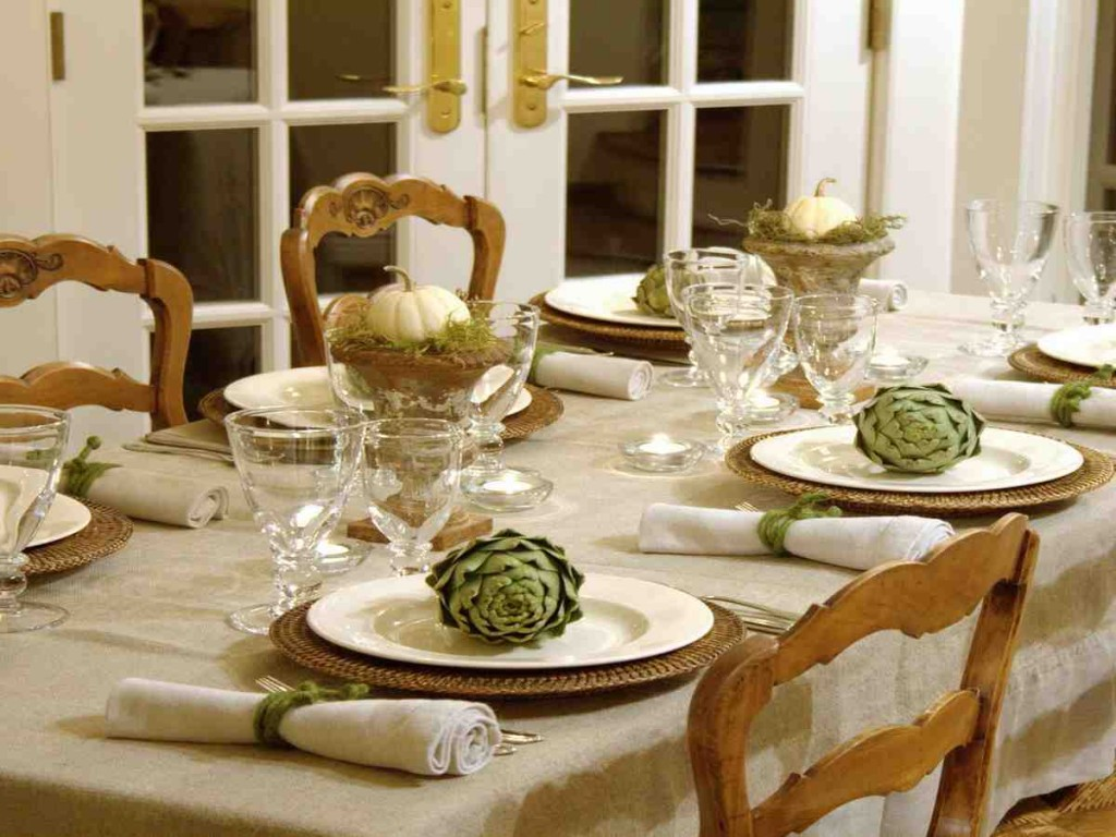 Setting A Dining Room Table & Beautiful Dining Room