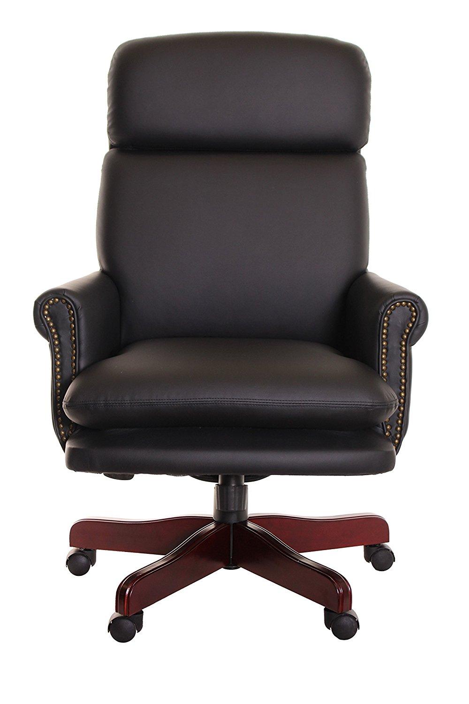 faux leather dining chair covers wedding montreal boss executive - decor ideasdecor ideas