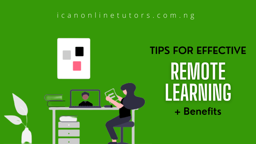 tips for effective remote learning