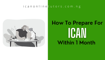 how to prepare for ICAN within 1 month