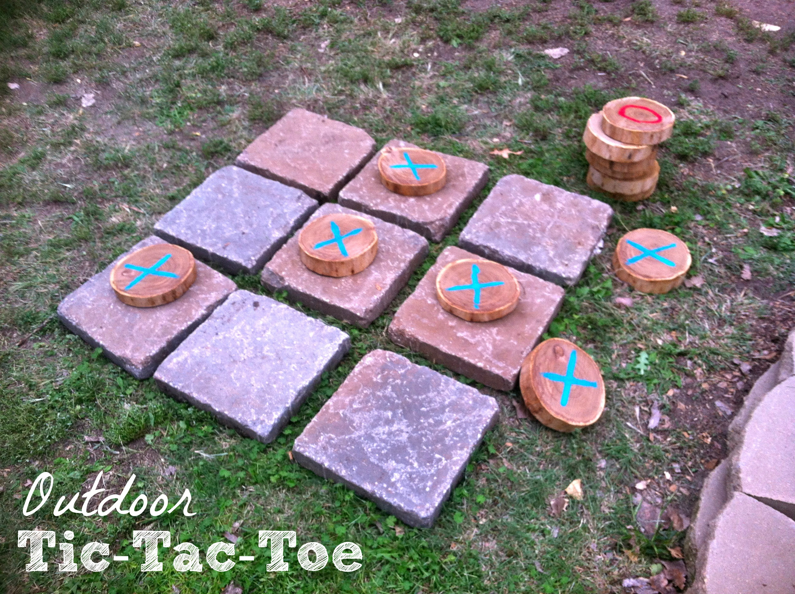 Burlap And Branches Tictactoe Game In A Bag  I Can
