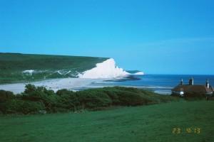 seven sisters cliffs Sussex