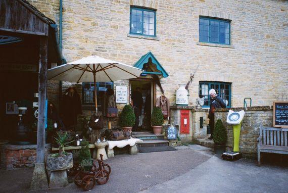 Shop / Museum/ Cafe at Upper Slaughter