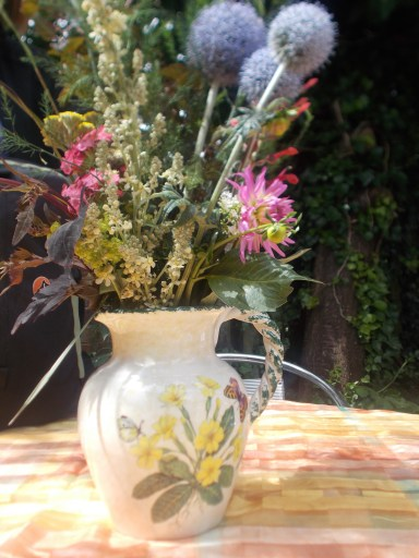 wild flowers in beautiful vase