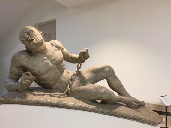 Calius Gabriel Cibber iconic statue
