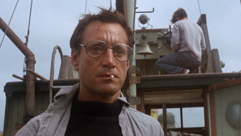 Roy Scheider stars as Police Chief Martin Brody in Steven Spielberg's shark thriller JAWS (1975)