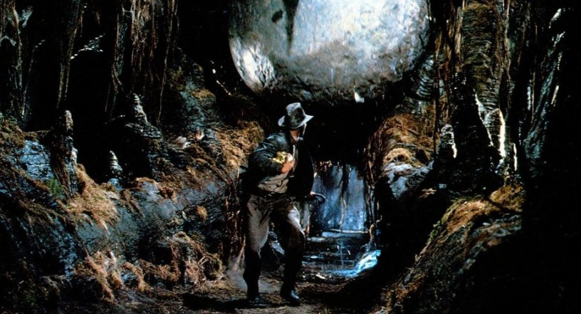 Harrison Ford stars as Indiana Jones in Steven Spielberg's adventure blockbuster RAIDERS OF THE LOST ARK (1981)