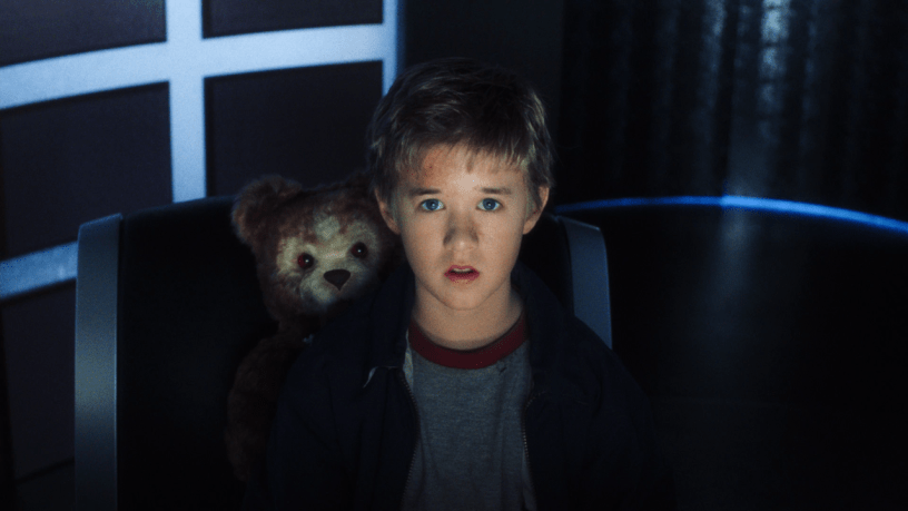 Haley Joel Osment stars as the artificial boy who wants to be real in Steven Spielberg's A.I.: ARTIFICIAL INTELLIGENCE (2001)