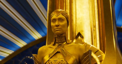 Elizabeth Debicki as Ayesha in GUARDIANS OF THE GALAXY, VOL. 2