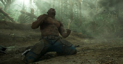 Dave Bautista as Drax in GUARDIANS OF THE GALAXY, VOL. 2