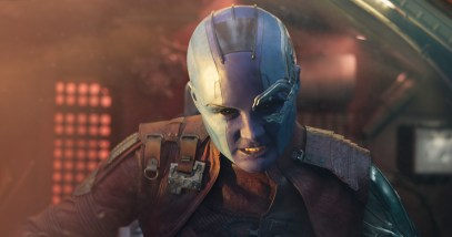 Karen Gillan as Nebula in GUARDIANS OF THE GALAXY, VOL. 2