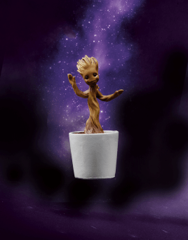 Potted Groot Action Figure