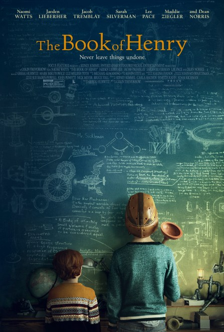 One Sheet for THE BOOK OF HENRY.