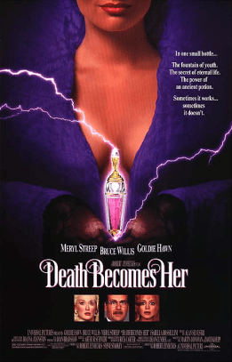 July 31, 1992: DEATH BECOMES HER - $58.4 million total box office gross