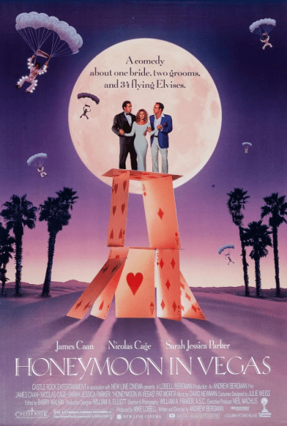 August 28, 1992: HONEYMOON IN VEGAS - $35.2 million total box office gross