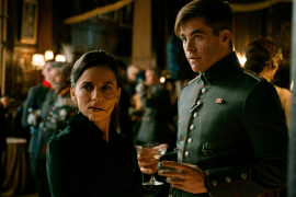 Elena Anaya and Chris Pine in WONDER WOMAN