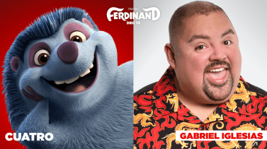 Gabriel Iglesias is the voice of Cuatro in FERDINAND.