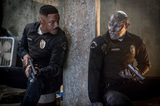 Will Smith and Joel Edgerton star in the Netflix exclusive BRIGHT.