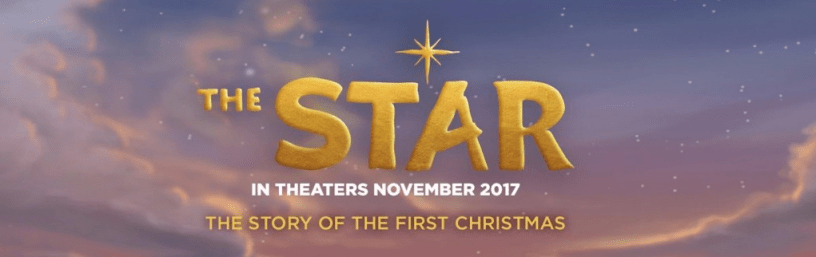 Title Slate for THE STAR, in theaters on November 10, 2017.