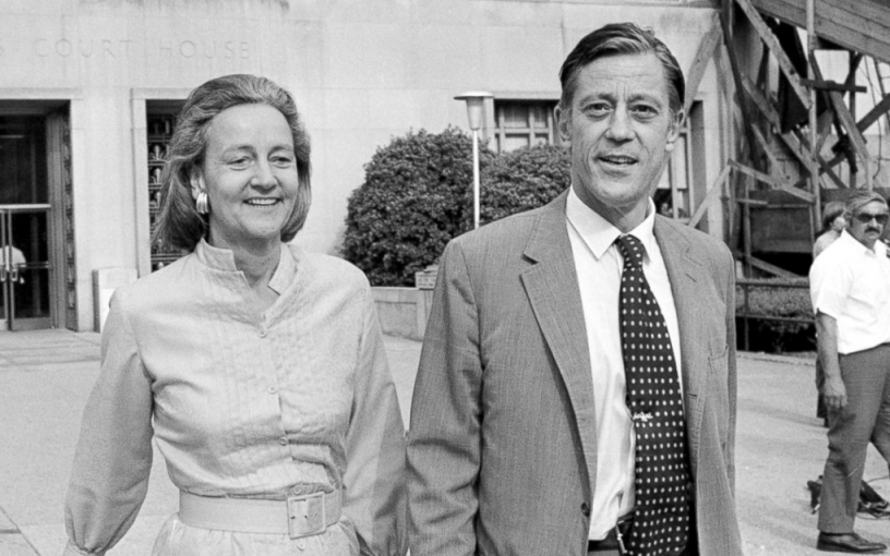 The real life Kay Graham and Bill Bradlee, the publisher and editor of The Washington Post in 1971.