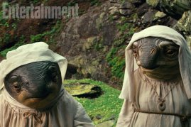 Caretakers of Ahch-To Island in STAR WARS: THE LAST JEDI.