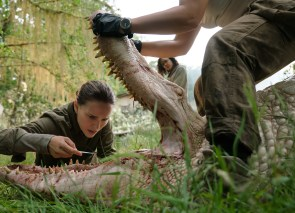 Natalie Portman and Tessa Thompson co-star in ANNIHILATION.