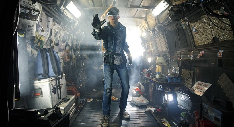 Tye Sheridan stars at Wade Watts (a.k.a. Parzival) in Steven Spielberg's adaptation of READY PLAYER ONE (2018)