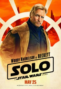 Woody Harrelson as Beckett in SOLO: A STAR WARS STORY.