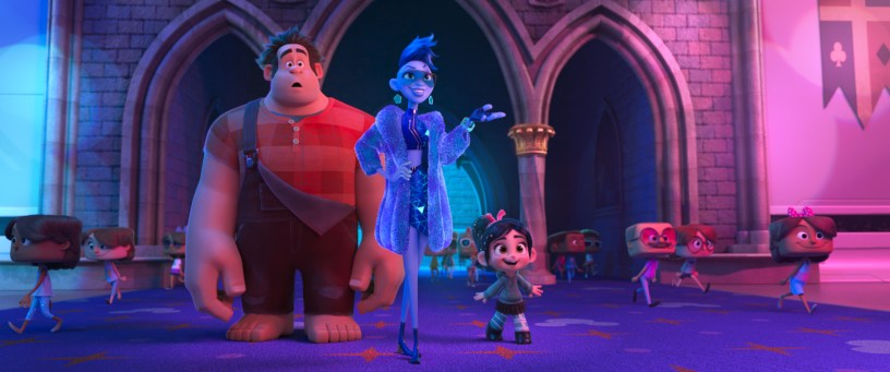 John C. Reilly, Taraji P. Henson, and Sarah Silverman star in RALPH BREAKS THE INTERNET: WRECK-IT RALPH 2