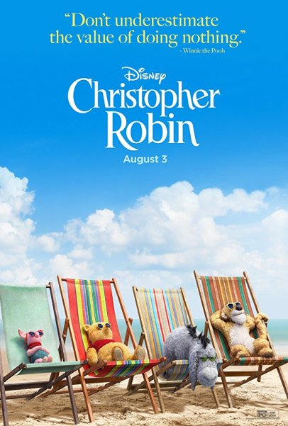 Disney's CHRISTOPHER ROBIN Beach Poster