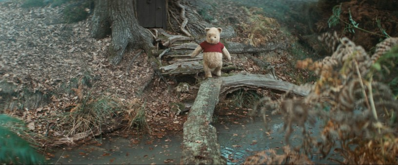 Jim Cummings as the voice of Winnie the Pooh in Disney's CHRISTOPHER ROBIN