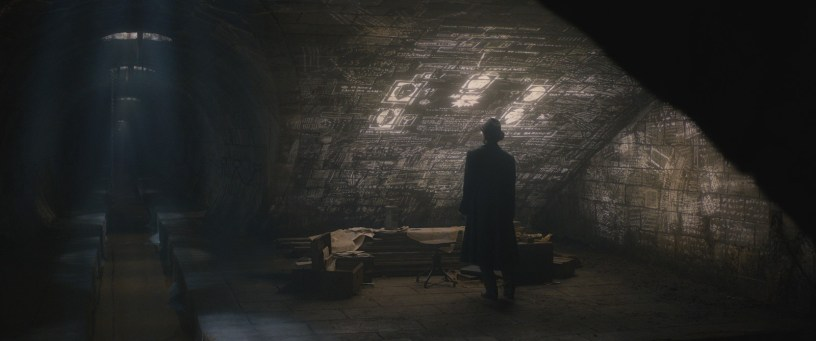 A cavern in FANTASTIC BEASTS: THE CRIMES OF GRINDELWALD