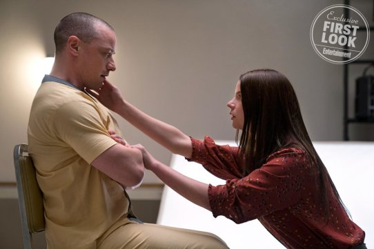 James McAvoy and Anya Taylor-Joy co-star in GLASS