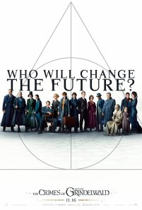 Cast Poster for FANTASTIC BEASTS: THE CRIMES OF GRINDELWALD (2018)