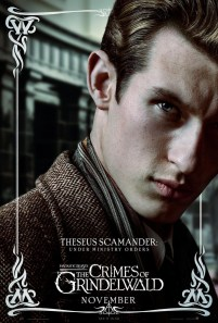 Callum Turner as Theseus Scamander in FANTASTIC BEASTS: THE CRIMES OF GRINDELWALD (2018)