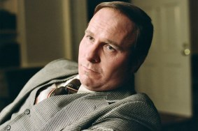 Christian Bale as a younger Dick Cheney in VICE (2018)