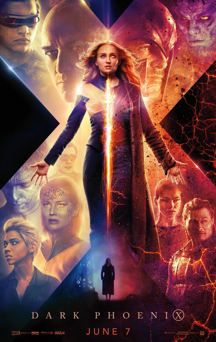 Official Movie Poster for DARK PHOENIX (2019)