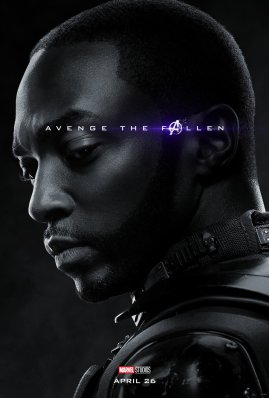 Anthony Mackie is Falcon in (?) AVENGERS: ENDGAME (2019)