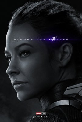 Evangeline Lilly is The Wasp in (?) AVENGERS: ENDGAME (2019)