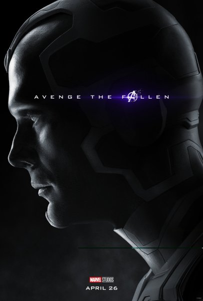 Paul Bettany is Vision in (?) AVENGERS: ENDGAME (2019)