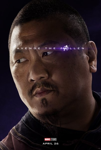 Benedict Wong is Wong in AVENGERS: ENDGAME (2019)