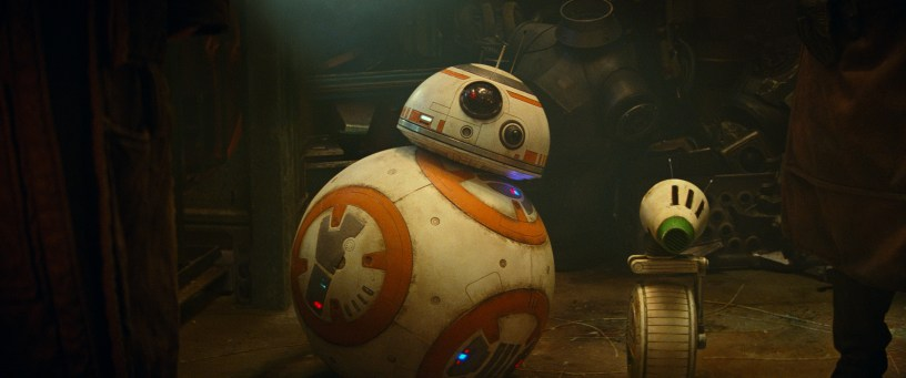 BB-8 and D-O in STAR WARS: THE RISE OF SKYWALKER.
