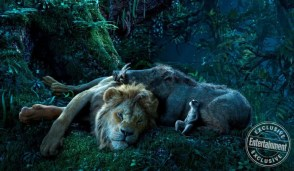THE LION KING Simba (voiced by JD McCrary), Timon (voiced by Billy Eichner) and Pumbaa (voiced by Seth Rogen)