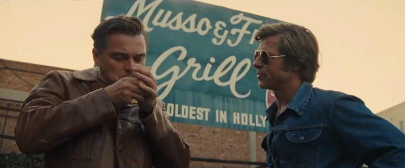 Leonardo DiCaprio and Brad Pitt star in Quentin Tarantino's ONCE UPON A TIME IN HOLLYWOOD (2019)