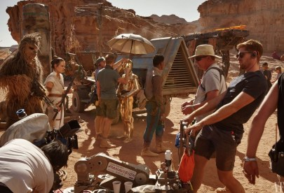 The hard working crew for STAR WARS: THE RISE OF SKYWALKER (2019)